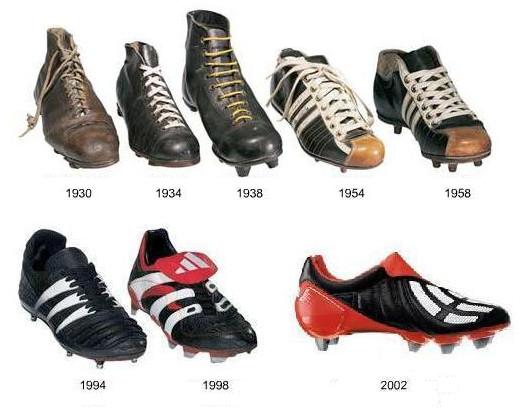 Evolusi Awal Dari Terciptanya Sepatu Sepakbola